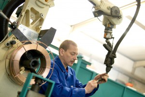 Roboterschweissen // Rabens Maschinenbau GmbH